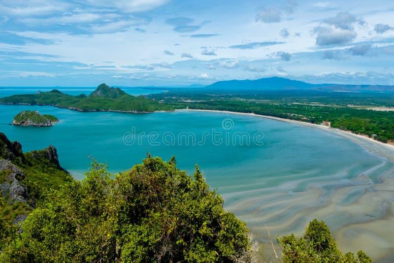 Khao在班武里府泰国的Lom Muak 库存照片