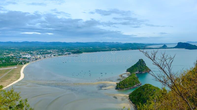Khao在班武里府泰国的Lom Muak 免版税库存照片