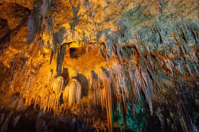 Khao bin cave of Thailand stock photo