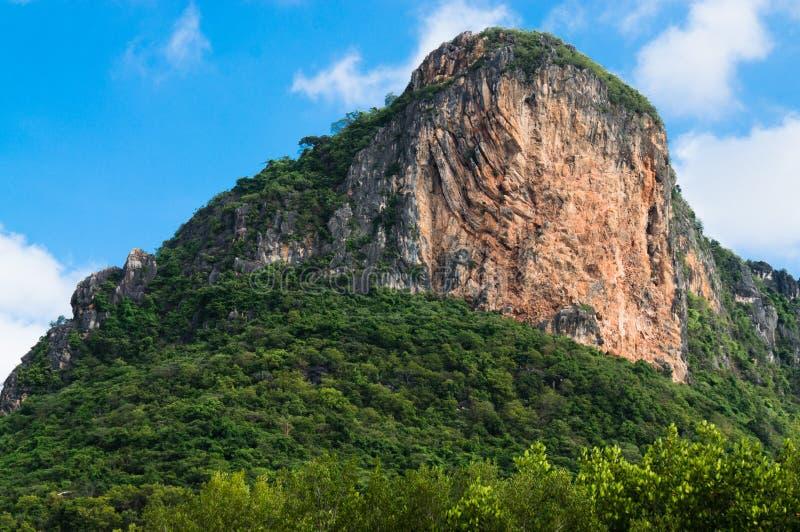 Khao Daeng, parc national de KHAO SAM ROI YOT, Thaïlande photos libres de droits