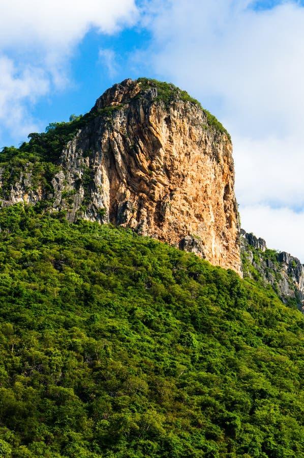 Khao Daeng, parc national de KHAO SAM ROI YOT, Thaïlande photographie stock