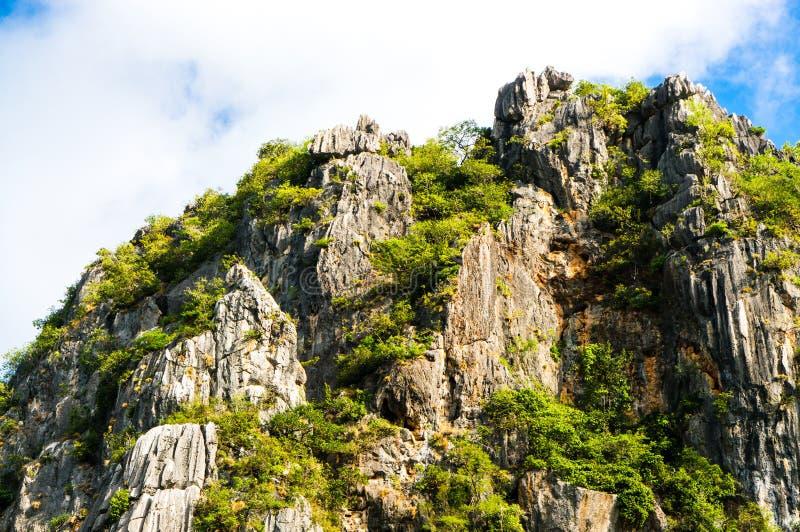 Khao Daeng, parc national de KHAO SAM ROI YOT, Thaïlande photos stock