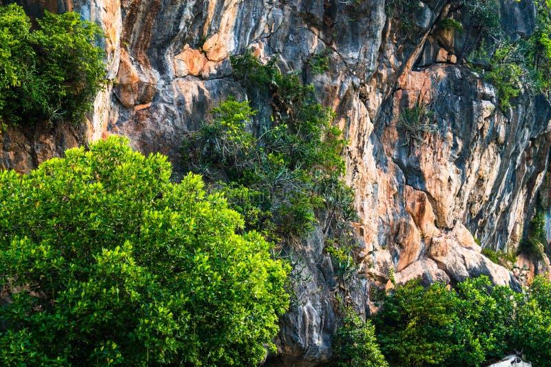Khao Daeng, parc national de KHAO SAM ROI YOT, Thaïlande images stock