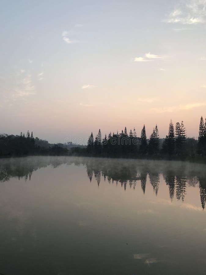 Khao kho的湖 免版税库存照片