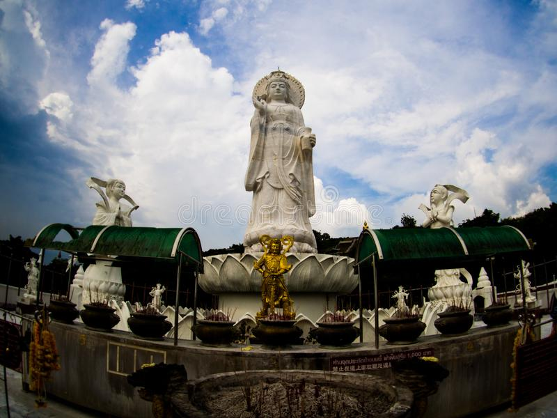 Khao Kho Hong Mountain, Hat Yai Tailândia fotos de stock