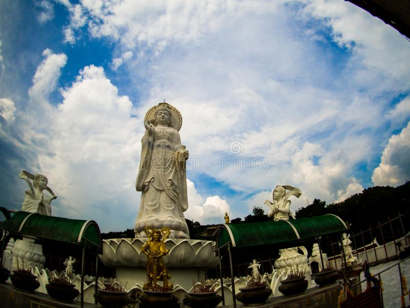 Khao Kho Hong Mountain, Hat Yai Thailand. Khao Kho Hong Mountain, Hat Yai Thailand stock photo