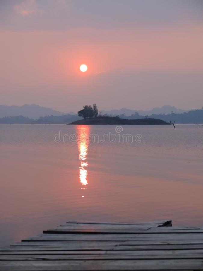 Khao Laem国立公园|美好和自然地方在泰国 库存照片