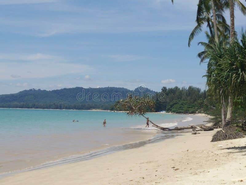 Khao Lak海滩 免版税图库摄影