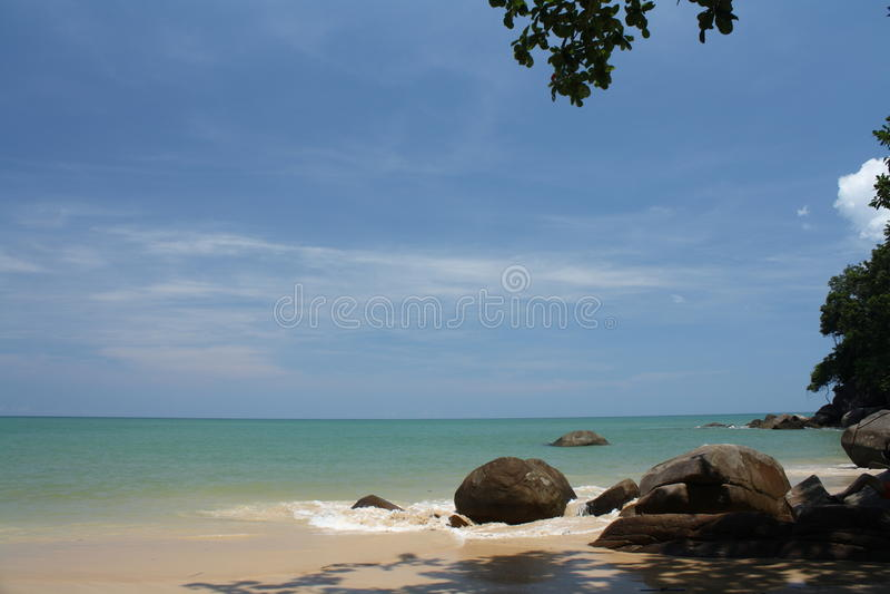 Khao Lak, mar de Andaman fotografia de stock royalty free