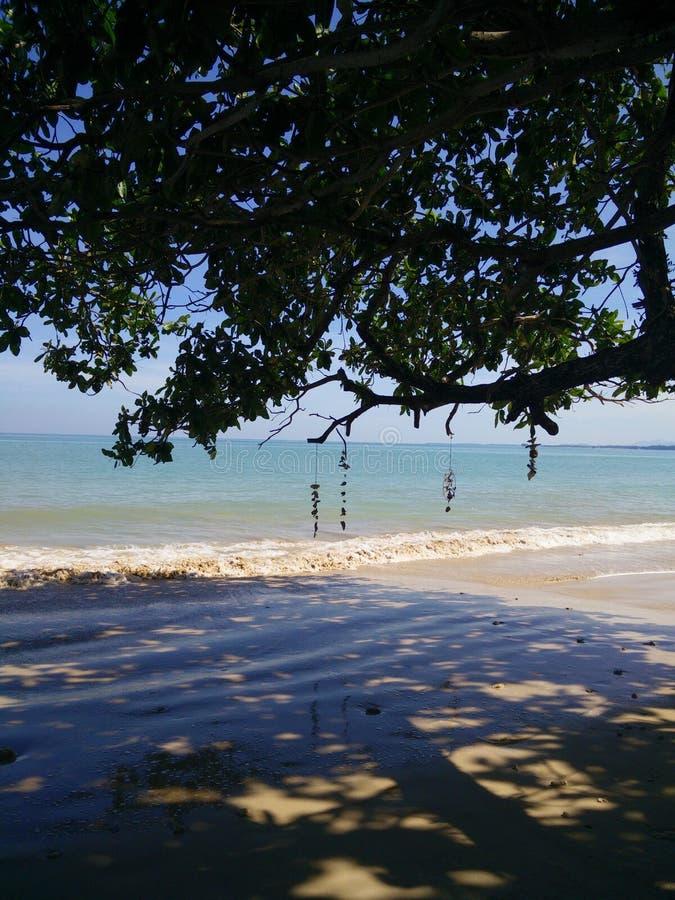 Khao lak ocean view royalty free stock image