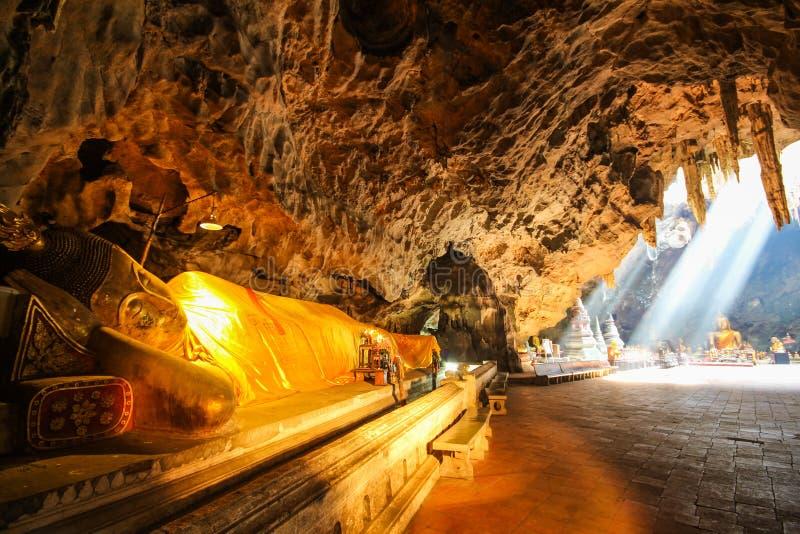 Khao Luang洞, Phetchaburi泰国 图库摄影