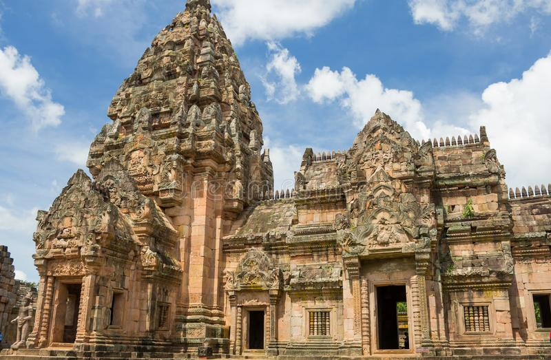 Khao Phanom soou o parque histórico fotos de stock