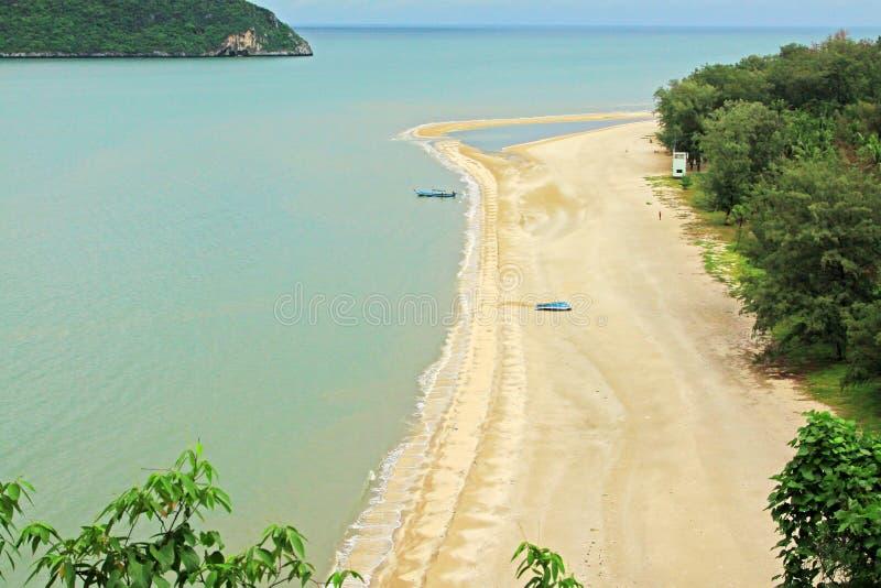 Khao Sam Roi Yot National Park Beach, Thailand lizenzfreies stockfoto