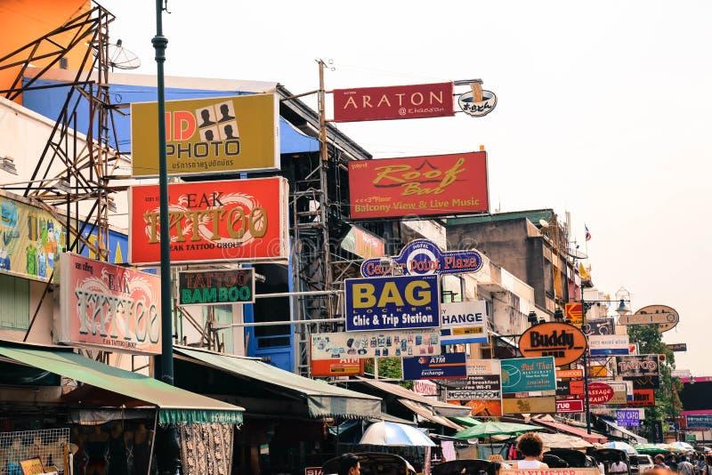 Khao San Road foto de stock royalty free