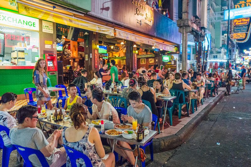 Khao San Road, Bangkok stock photos