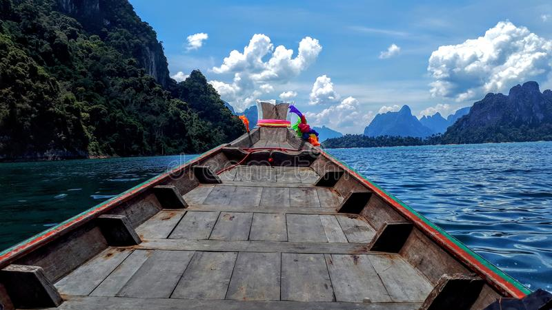 Khao Sok湖 库存图片