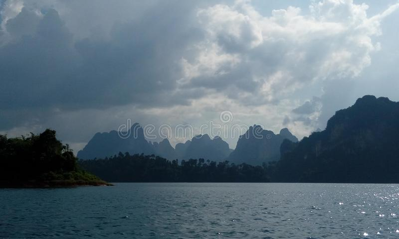 Khao Sok arkivbilder