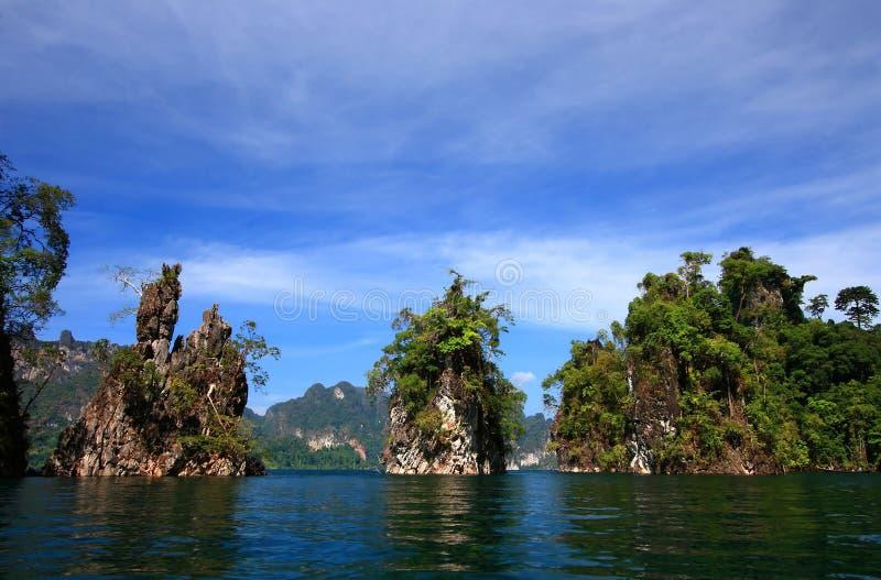 Khao Sok, Guilin della Tailandia fotografie stock