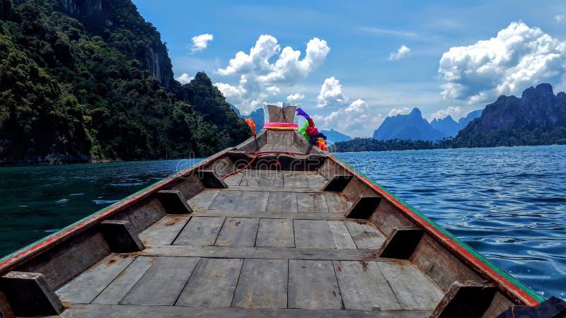 Khao Sok jezioro obraz stock