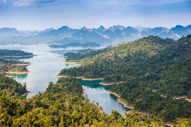 Khao sok nationaal park bij suratthani, Thailand stock fotografie