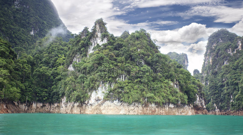 Download Khao sok nature park stock image. Image of nature, green - 25096991