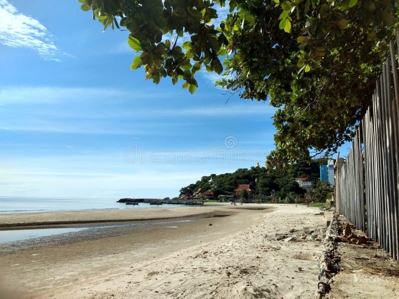 Khao Tao Beach. In the morning stock photo