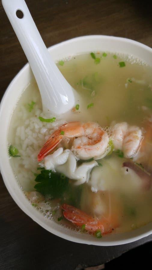 Khao Tom Goong royaltyfri foto