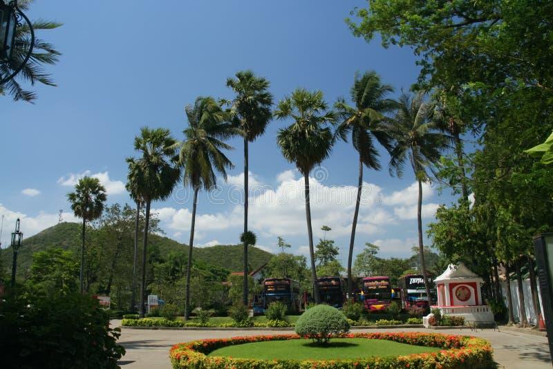 Khao WANG ή ιστορικό πάρκο Phra Nakhon Khiri στοκ εικόνα με δικαίωμα ελεύθερης χρήσης