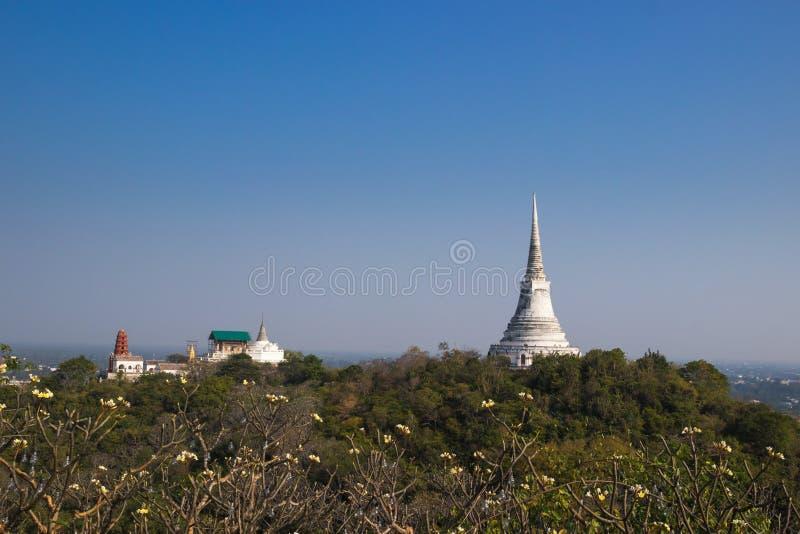 Khao Wang, provincia di Phetchaburi fotografie stock