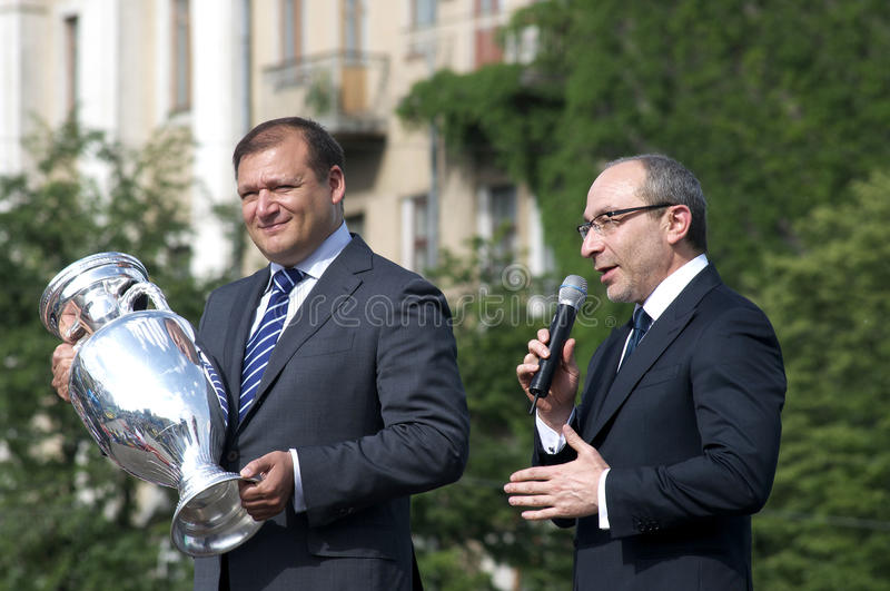 Kharkiv UEFA Cup In 2012 Editorial Stock Image