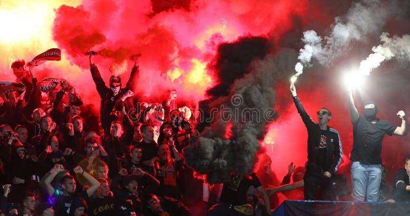 Cup of Ukraine Final 2017. Shakhtar v Dynamo Kyiv stock photography