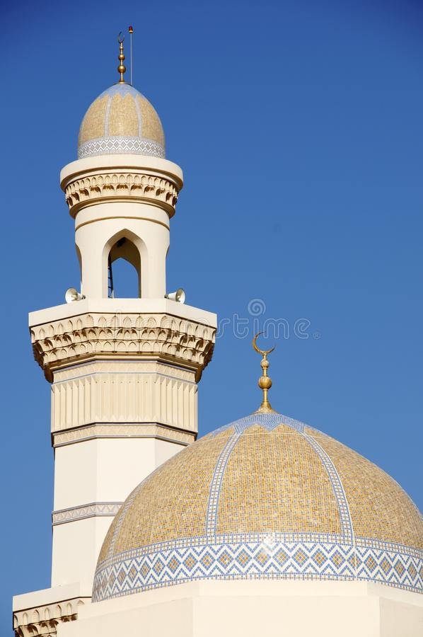 Khasab meczet Oman zdjęcia stock