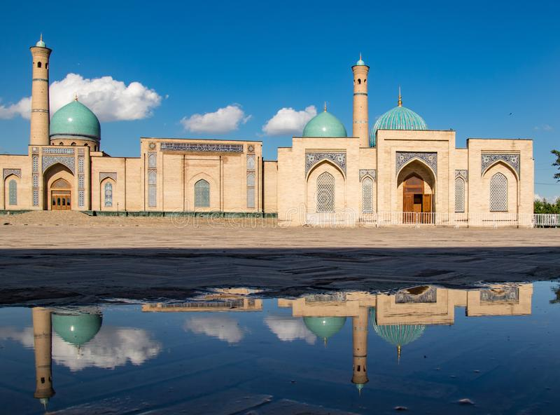 Khast阿訇清真寺在塔什干,乌兹别克斯坦 免版税库存照片