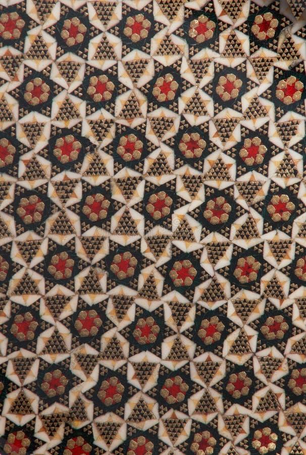 khatam几何结构。 图库摄影