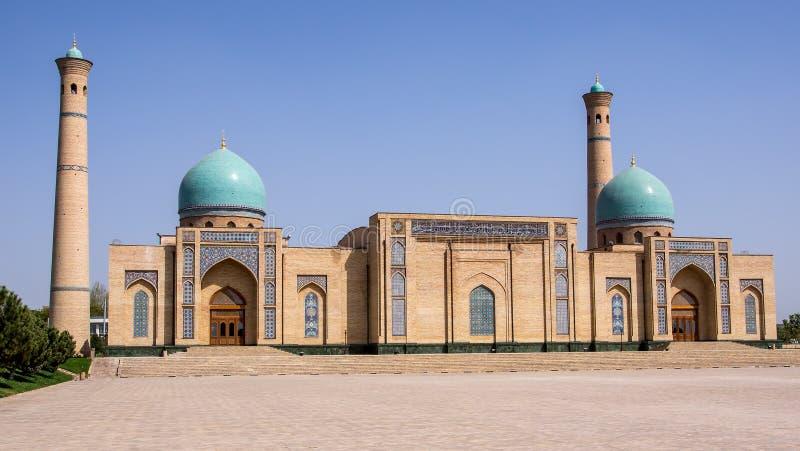 Khazrat-Imam in Tashkent, Oezbekistan stock afbeelding