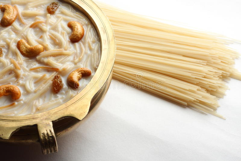 Kheer, payasam photographie stock
