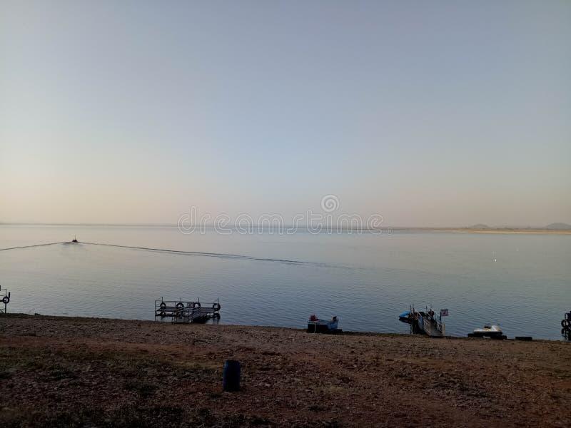 Khindsi jezioro obrazy stock