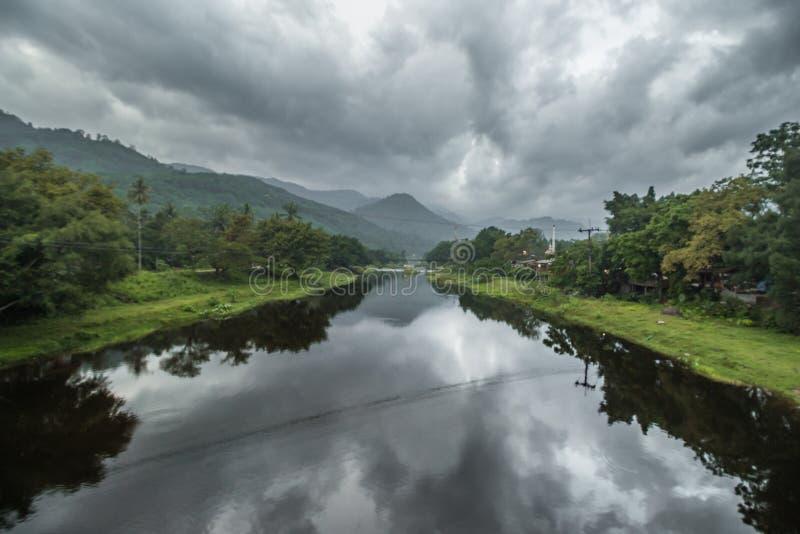 Khiriwong-Dorf-Ansicht stockfotos