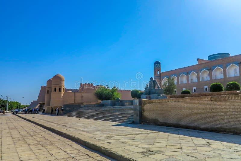 Khiva耶路撒冷旧城32 库存图片