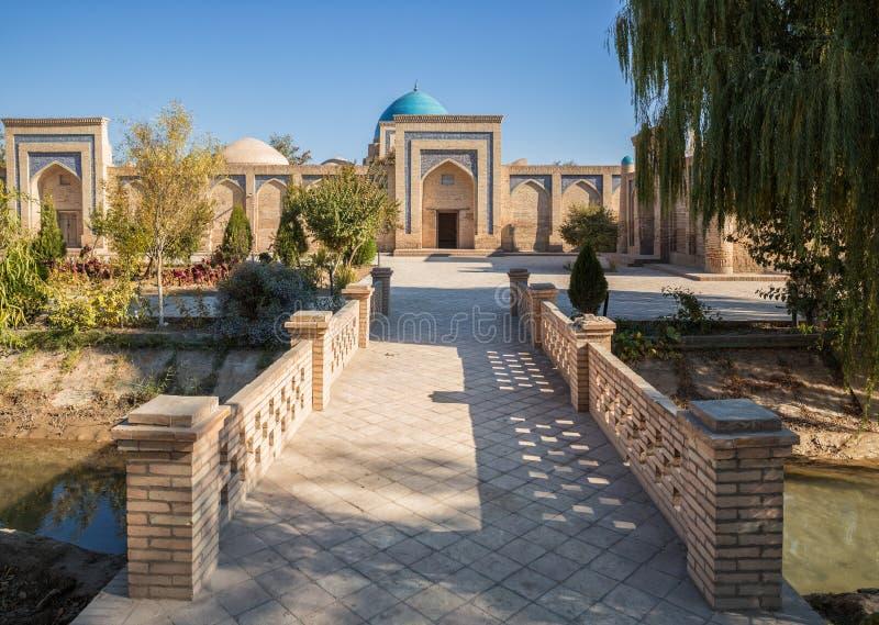 Khiva,赛义德穆罕默德Makhiruy陵墓  库存图片