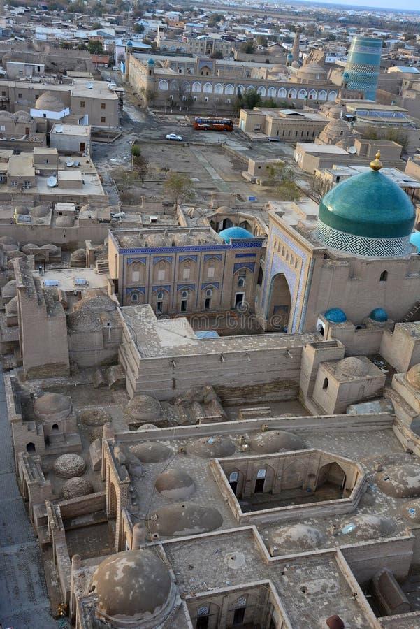 Khiva在秋天 免版税库存照片