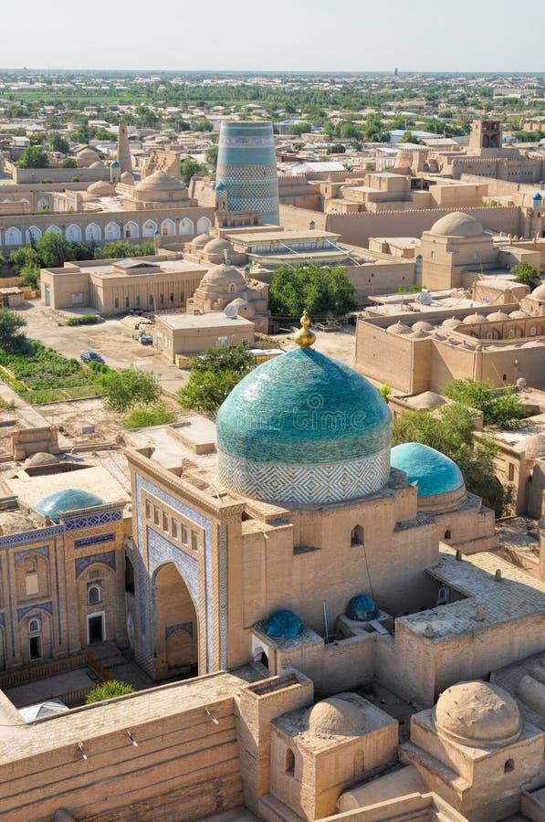 Khiva清真寺 图库摄影
