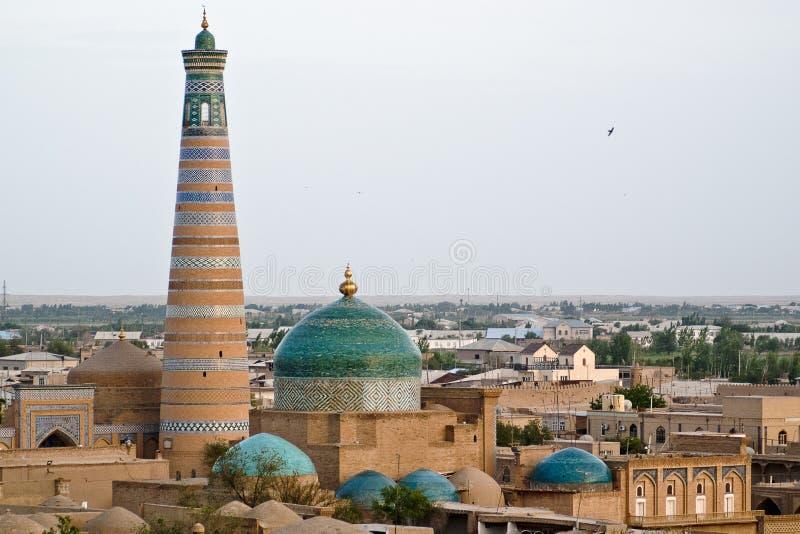 khiva πόλεων στοκ εικόνες