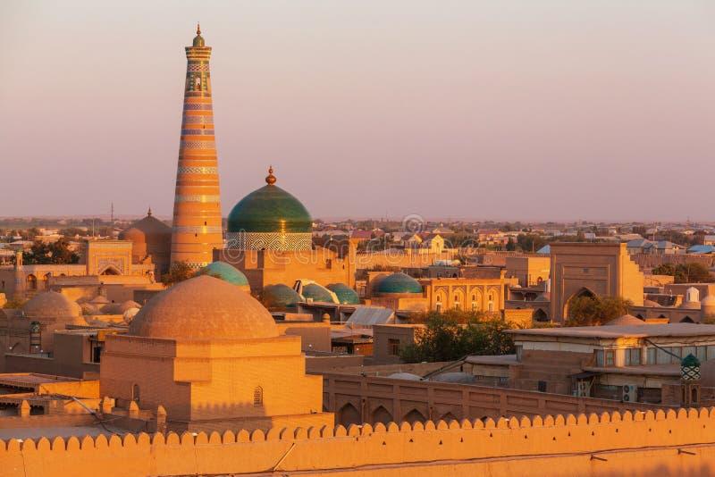 Khiva arkivbild