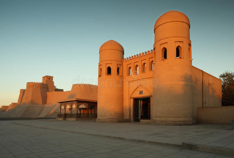 Khiva royaltyfria foton