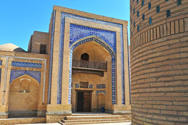 Khiva: architettura di vecchia città immagini stock libere da diritti
