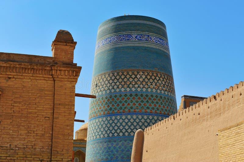 Khiva: architettura medievale fotografie stock libere da diritti