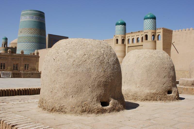 Khiva, l'Ouzbékistan images libres de droits