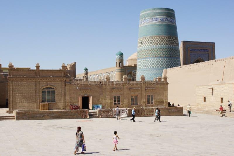 Khiva, l'Ouzbékistan image stock