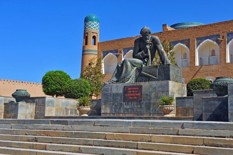 Khiva: Monumento di Muso del ibn di Maometto immagine stock